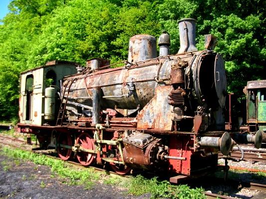 Gr 570 Titelberg Fond De Gras Lasauvage Minieresbunn Train 1900
