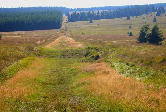Gr573 Eupen Helle Hoge Venen Herzogenhugel Botrange Mont Rigi